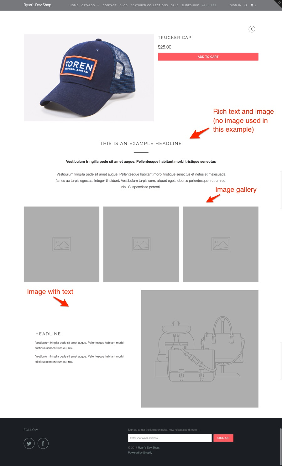 Advanced Product Page Layouts (How to use the product.details ...